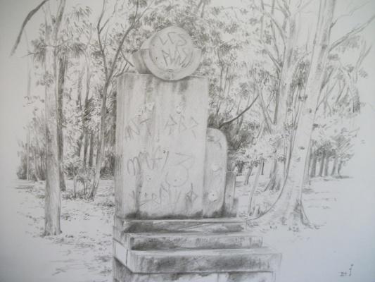 124.-Monumentos-XI-Lpide-prxima-ao-Gacho-Oriiental-releitura-de-foto