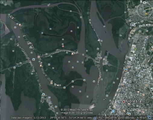 Vista-do-Delta-Google-Earth